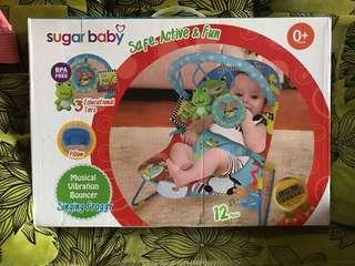 Sale sugar baby bouncer new (no nego)