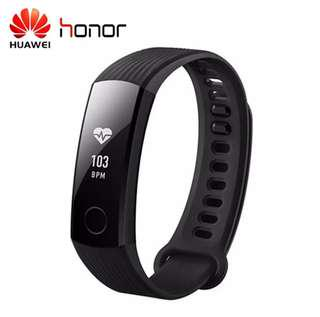Original HUAWEI Honor Band 3 Smartband Heart Rate Monitor Calories Consumption Pedometer Smart Wristband  45 days Standby Times