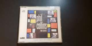 Phil Collins two hearts 3吋CD manufactured by germany