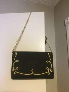 Ninewest suede clutch envelope bag $110 tag attached