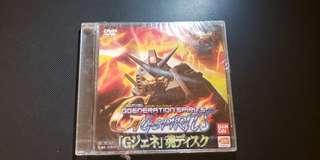 G Spirits SD Gundam G Generation Spirits for DVD Player Import Japan 高達 not for sale  完封未拆