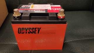 日本版美國製造ODYSSEY Ultimate系列LB1200AGM賽車電 全新貨