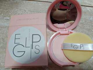 Eglips pink powder compact