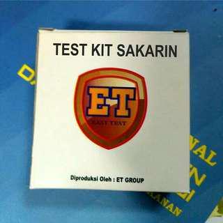 Test Kit Sakarin | Uji Cepat Pemanis Buatan