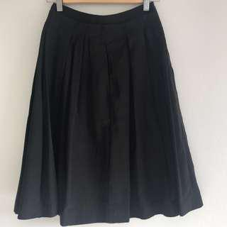 Cue Black Skirt Size 6