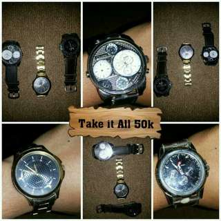 Take it all 50k Watches for Men