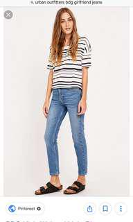 Urban Outfitters BDG Girlfriend Jeans Size 28