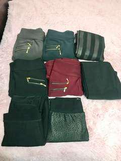 Legging warmers (can be used for winter-very warm)