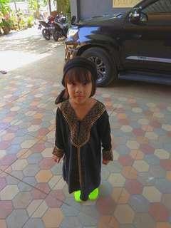 Baju Abaya 4-5 years