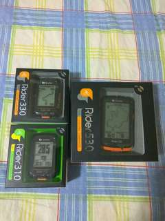 Bryton Rider 310/330/530 GPS Cycling Computer 中文無線連網自行車導航記錄器~~~送機身保護套連膜