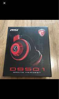🚚 MSI DSS01 玩家級線控電競耳麥