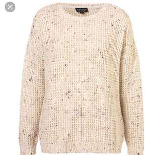 Topshop Speckled Knit Jumper