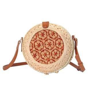Hand Knitted Rattan Bag