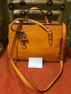 Charles & Keith Tote Bag with Bow Detail Charm (w/ sling)