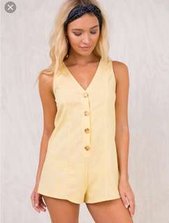 Princess Polly Cloudstone Romper