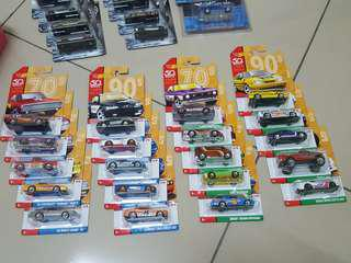 Hot Wheels 50th THROWBACK COLLECTION