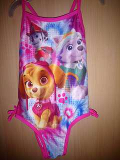 Baby Swimsuit Paw Patrol Nickelodeon Imported. Never fades