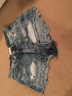 Garage high waisted shorts!