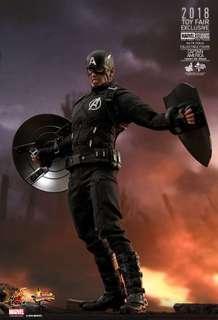 Hottoys 動漫節 限定版 MMS488 Avengers Captain America Concept Art Ver. 復仇者聯盟 美國隊長 玩具狂熱