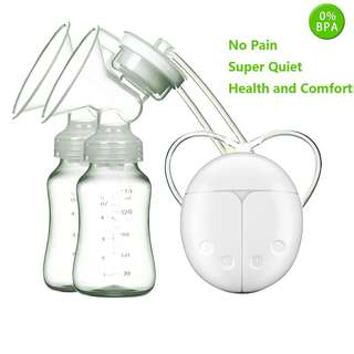 288 (Brand New) Green Chinatown【Upgraded Version】Anti-backflow Double Electric Breast Pump Mimics Natural Breastfeeding
