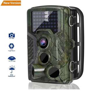 295 (Brand New) Wildlife Camera, LESHP Trail Hunting Game Camera No Glow 16MP 1080P Motion Activated w/ 120°Infrared Night Version, 2.4'' LCD Display, IP56 Waterproof Design for Animal/Event Observation Surveillance