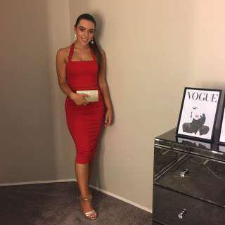 Red dress size 6 PRICE DROPPED BY $30