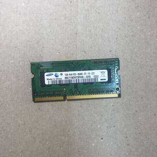 Samsung Ram ddr3 1GB NOTEBOOK