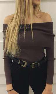 Wilfred off the shoulder sweater size xxs