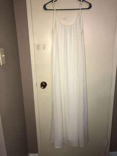 White Urban Planet Maxi Dress