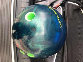 Quantum Aquamarine 15lbs RH Bowling ball