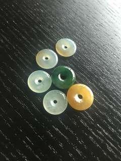A玉水泡形玉環