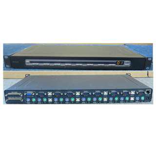 KVM Switch: Belkin Omniview PRO2 8-Port (P81041-A F1DA108T)