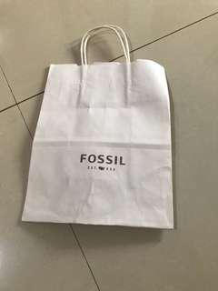 Paperbag fossil