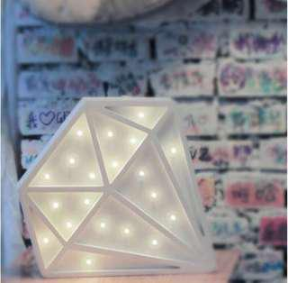 Brighten your room/ table with a diamond light