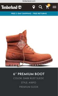 Timberland limited release