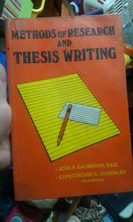 Writing and Research Books