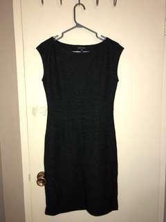 Dark Grey Eileen Fisher Dress