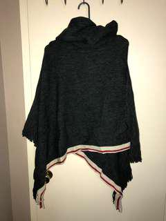 Grey Roots Poncho