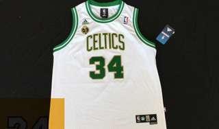 NBA Jersey youth size Celtics pierce L XL size