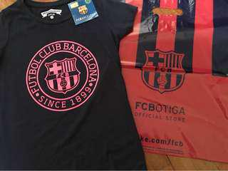 Barcelona FC tee- new with tag