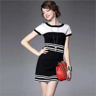 Korean Fitted Dress 02 - COD