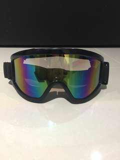 Goggle motorbike ski