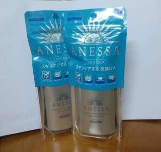 (全新)(正貨) ANESSA 銀色防曬一支60ml