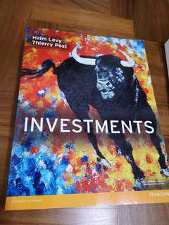 Investment testbook
