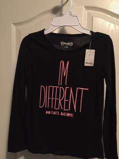Girls I'm different Shirt