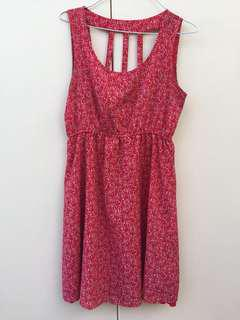 Cute Red Spring Dress Size 8