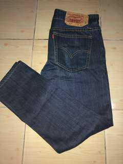 Levi's Jeans Buttonfly