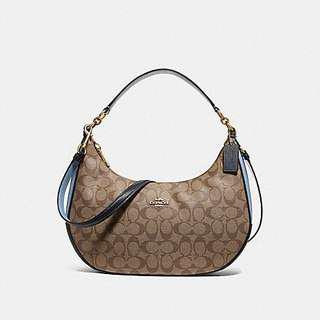 c884acbca5 Authentic Coach East West Harley Hobo Bag