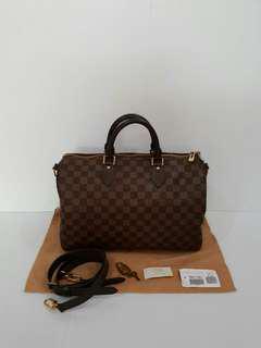 FAST SALE!! Louis Vuitton Speedy Bandou 35 Damier 2012..Complite No Rec..