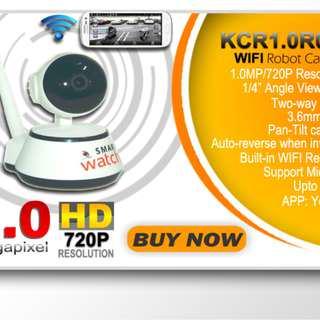 Smart Watch Wifi Robot Camera 1.0Mp